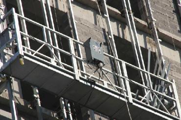 série zlp approuvé par le CE suspendu plate-forme de câble zlp500, zlp630, zlp800, zlp1000