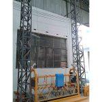 La corde en aluminium actionnée par 10m a suspendu la phase zlp1000 monophasée 2 * 2.2kw