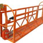 1000 kg 7,5 mx 3 sections en alliage d'aluminium, plateforme de travail suspendue zlp1000