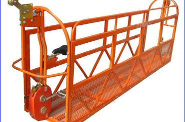 berceau pour le nettoyage des vitres, gondole de la série zlp, plate-forme suspendue motorisée zlp630