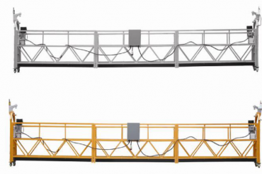 208 v / 60hz triphasé 100m, 150m, 200m, etc. alliage d'aluminium zlp630 suspendu berceau