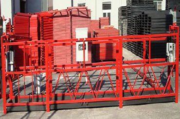 nettoyage de bâtiments plateforme de travail suspendue zlp800 avec une charge nominale de 800 kg