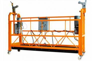 Puissance 2.2kw de moteur de la plate-forme de fonctionnement ZLP1000 suspendue par aluminium diplômée par CE