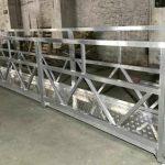 la plate-forme de fonctionnement 380v 3 en acier suspendue par zlp800 pour le nettoyage de mur extérieur