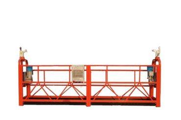 zlp500 a suspendu l'équipement de construction de berceau de plate-forme pour le mur extérieur