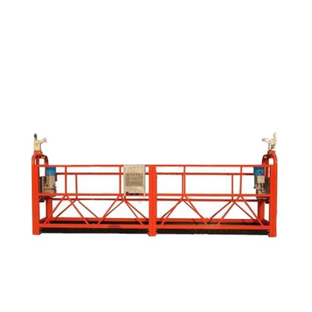 Plate-forme de fonctionnement ZLP800 suspendue adaptée aux besoins du client par alliage d'aluminium pour la décoration de construction