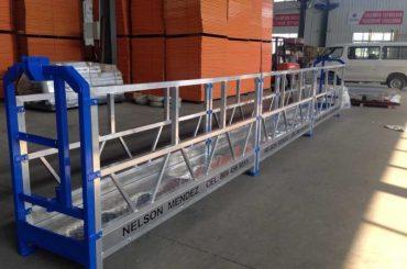 bon prix plate-forme suspendue / gondole suspendue / berceau suspendu / échafaudage suspendu avec certificat CE et ISO