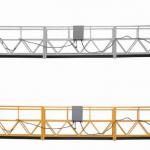 La plate-forme suspendue par corde de 3 phases a galvanisé 7.5m zlp800a chaud pour la peinture de mur