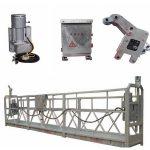 zlp800 équipement d'accès suspendu de 2,5 m * 3 sections avec contrepoids en fer