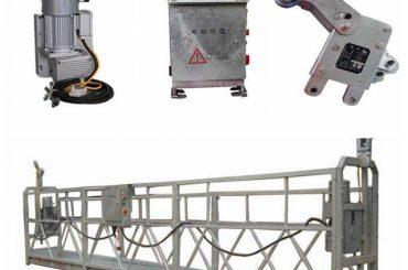 plate-forme de travail suspendue durable, plate-forme en forme de l pour peindre de hauts plafonds