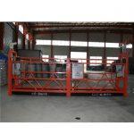 zlp1000 8 - 10 m / min, plateforme de woking suspendue pour la construction et la maintenance de bâtiments