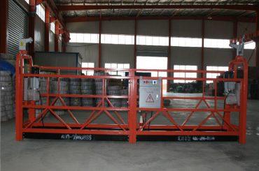 alliage d'aluminium / acier / équipement d'accès suspendu zlp630 galvanisé à chaud