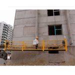 7.5m a adapté les plates-formes suspendues de 800 kilogrammes pour le nettoyage de bâtiments, goupille