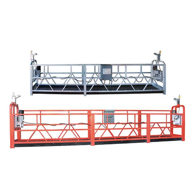 Plate-forme de fonctionnement suspendue ZLP630 de nettoyage de fenêtre d'entretien de bâtiment en hauteur