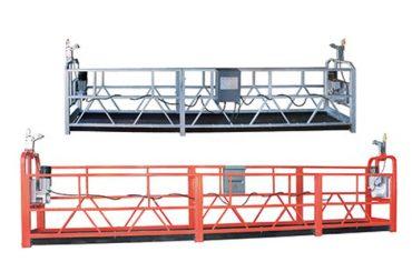 équipement d'accès suspendu sûr zlp630 avec le fil d'acier 8.3 millimètres pour le nettoyage