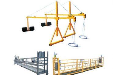 Plate-forme d'accès douloureuse en acier suspendue en acier suspendue par vente de Haoke ZLP630, ZLP800, ZLP1000