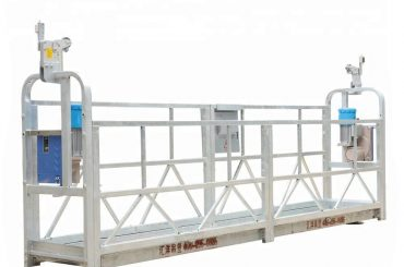 plate-forme suspendue actionnée, ascenseur de gondole de construction, bmu (zlp500 / 630/800)