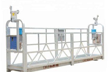 10m 800kg a suspendu l'alliage d'aluminium de systèmes d'échafaudage avec la taille de levage 300 m