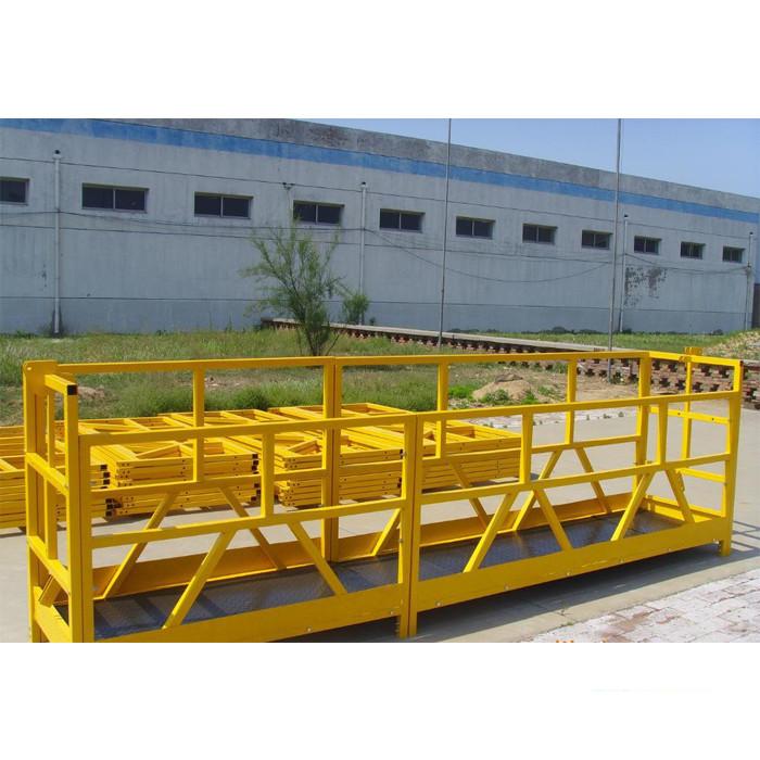 Plate-forme 300M 2.5M * 3 1.8KW 800KG de nettoyage de vitres de bâtiment de ZLP 800 en hauteur
