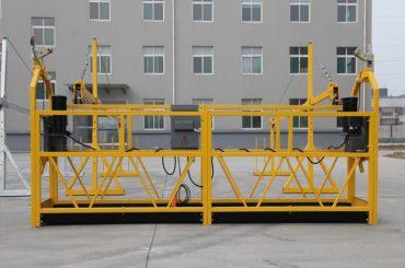 équipement d'accès suspendu temporairement installé / nacelle / berceau / échafaudage zlp500