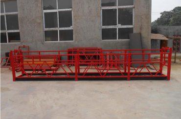 Bâtiment de grande hauteur, suspendu aux plates-formes de travail suspendues zlp500 2m * 2 1.5kw 6.3kn