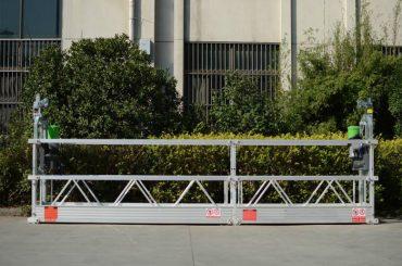plate-forme de travail suspendue s'élevante de mât / plate-forme de travail augmentée mobile