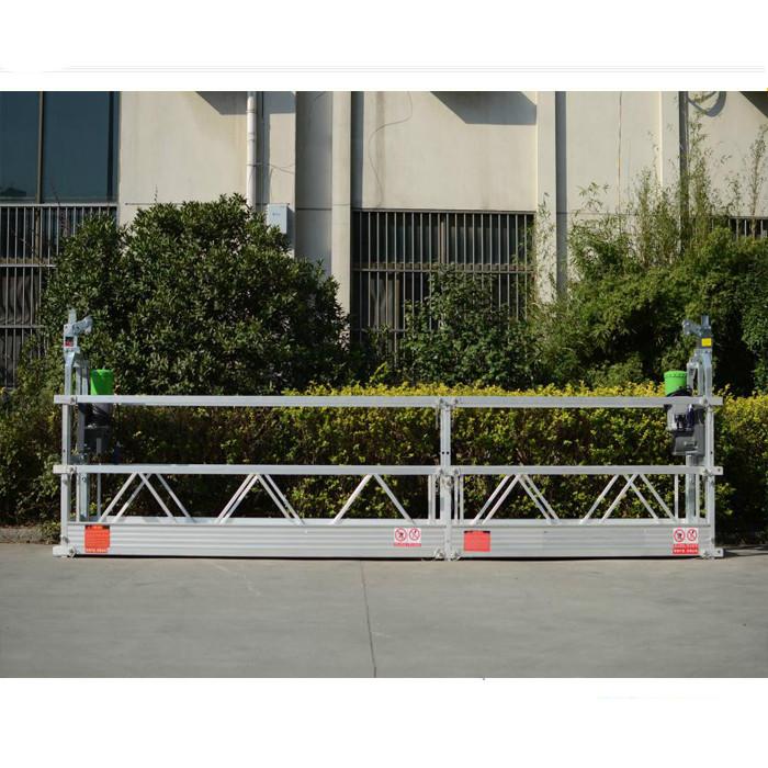 Plate-forme de travail suspendue s'élevante de mât / plate-forme de travail élevée mobile