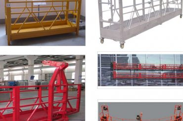 800 kg d'alliage suspendu zlp800 peint / galvanisé à chaud / en alliage d'aluminium