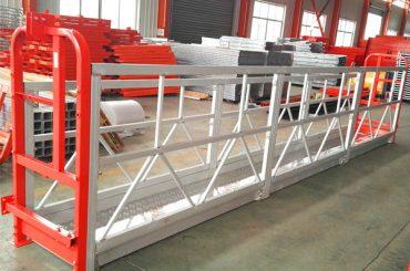 Plate-forme de travail suspendue à 2 sections de 500 kg avec 3 types de contrepoids