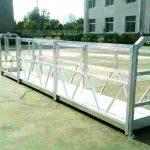 plateformes de travail suspendues en acier / aluminium avec serrure de sécurité série sal