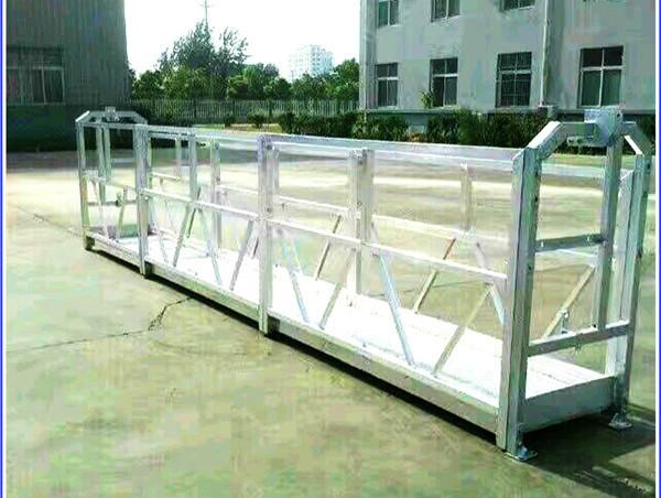 Plates-formes de travail suspendues en acier / aluminium avec verrou de sécurité, série SAL