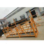 acier zlp630 fiable peignant la plate-forme de fonctionnement suspendue pour la construction de bâtiments