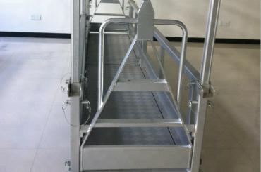plate-forme de travail en acier suspendue / plate-forme en acier suspendue