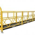 zlp1000 a suspendu le berceau de maintenance de plates-formes d'accès avec la corde en acier 8.6mm