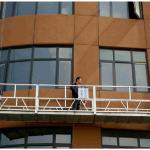 Plate-forme suspendue pour corde de nettoyage des fenêtres zlp630
