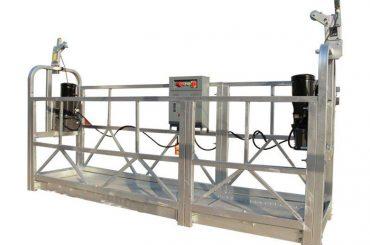 CE / ISO-approuvé ZLP construction électrique / bâtiment / mur extérieur plate-forme suspendue / berceau / nacelle / scène de swing / sky climbe