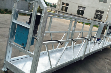 nettoyage des vitres zlp630 corde suspendue plate-forme berceau de gondole avec palan ltd6.3