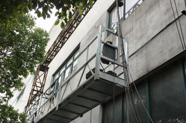 zlp1000 2.5m * 3 2.2kw 8kn a suspendu les berceaux d'accès avec le système de contrôle électrique