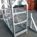 haute sécurité corde suspendue plate-forme d'installation des ascenseurs zlp630 zlp800 zlp1000