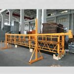 zlp 500 lp 630 plate-forme de câble suspendue temporairement pour la construction