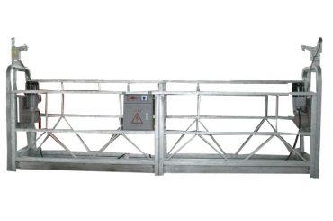 plate-forme suspendue zlp500 avec câble de sécurité d'une capacité nominale de 500 kg