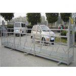 2.5mx 3 sections de plate-forme de travail d'échafaudage aluminium 800kg avec serrure de sécurité 30kn