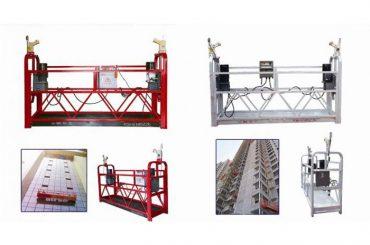 corde suspendue suspendue plate-forme d'accès, machine de gondole d'ascenseur de construction zlp630