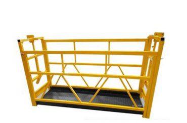 berceau de maintenance zlp800 7.5m 800kg 1.8kw de plates-formes d'accès suspendu par aluminium