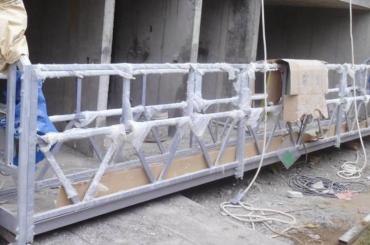 la haute corde de sécurité a suspendu la hauteur de levage 300m de plate-forme pour la peinture