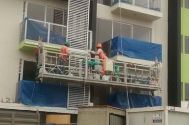 corde d'entretien de construction suspendue plate-forme avec palan ltd8.0 zlp800